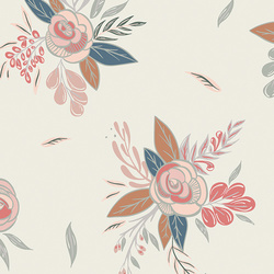 Montrose Blossoms in Creme