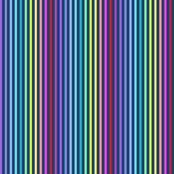 Rainbow Stripe in Navy