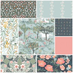 Picturesque Fat Quarter Bundle in Poetic Dreams