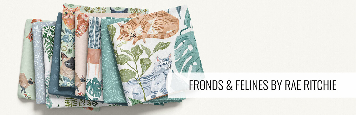 Fronds & Felines by Rae Ritchie