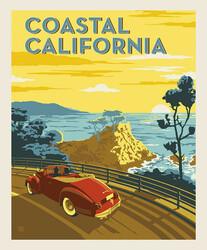 Poster Panel in Coastal California