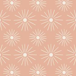 Sunburst in Sunbleached on Sunbleached Pink