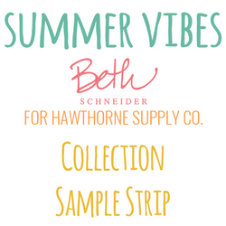Summer Vibes Sample Strip