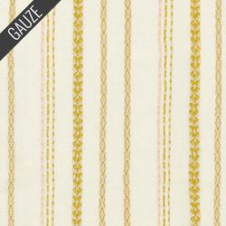 Athena Gauze Yarn Dye in Cream