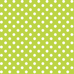 Candy Dot in Lime