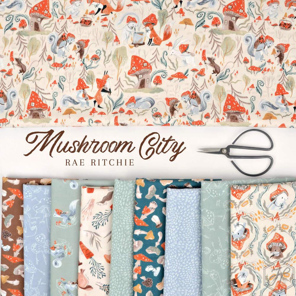 Mushroom City Poster Image