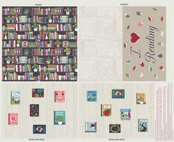 Book Cushion Panel in Multi