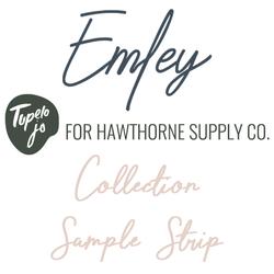 Emley Sample Strip