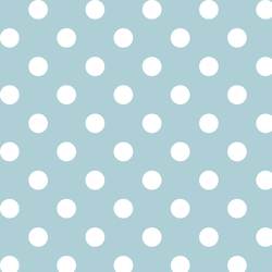 Marble Dot in Powder Blue