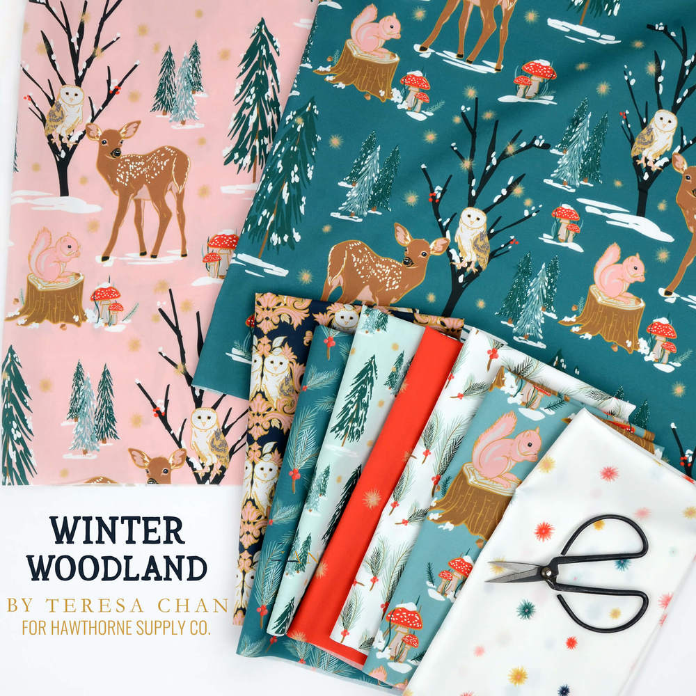 Winter Woodland Poster Image