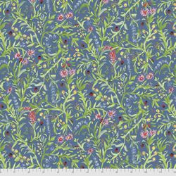 Ladybug Garden in Blue
