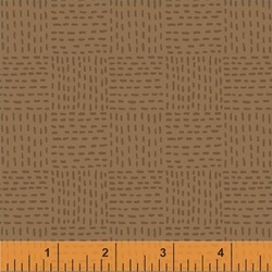 Tile Stitch in Brown