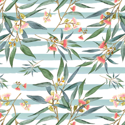 Banksia in Pacific Blue Stripe