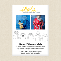 Grand'Ourse Cardigan - Kids