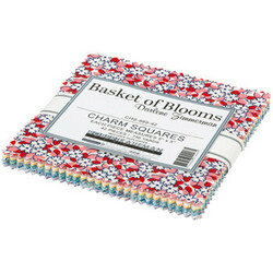 """Basket Of Blooms 5"""" Square Pack"""