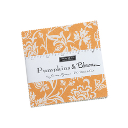 Pumpkins and Blossoms Charm Pack
