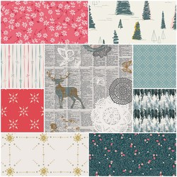 Merry and Bright Fat Quarter Bundle