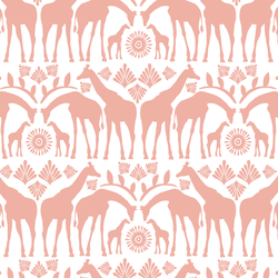 Giraffe Tribe in Peony