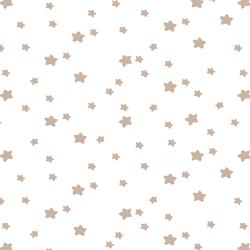Star Light in Sand on White