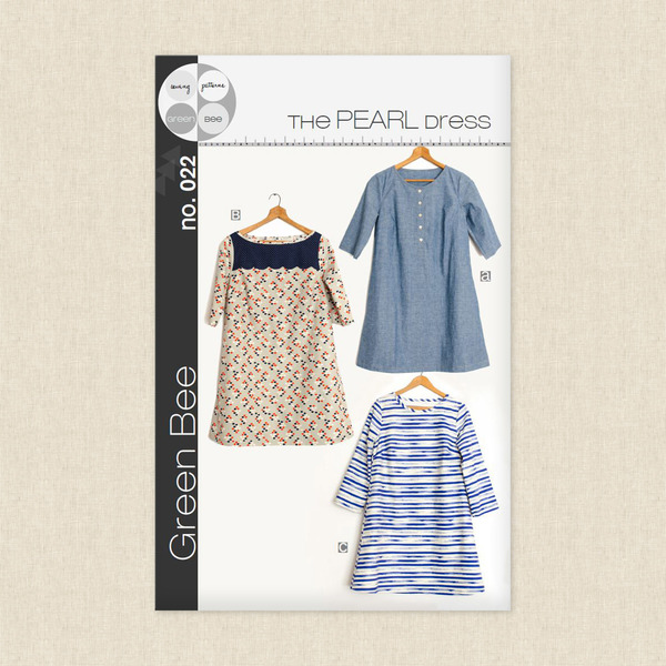 Pearl Dress Sewing Pattern by Green Bee Design at Hawthorne Supply Co