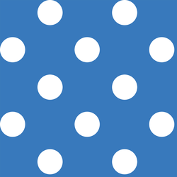 Jumbo Dot in Cerulean