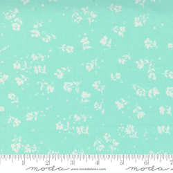 Little Dainities Floral Ditsy in Aqua