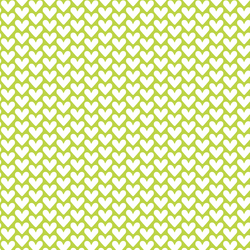 Hearts in Lime