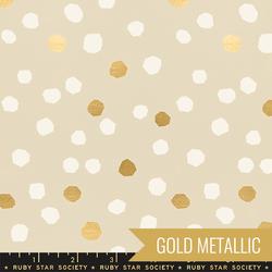 Chunky Dots in Metallic Sandbox