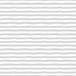 Painted Stripes in Silver