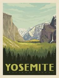 Poster Panel in Yosemite