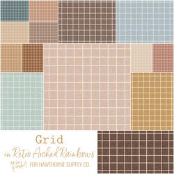 Grid Fat Quarter Bundle