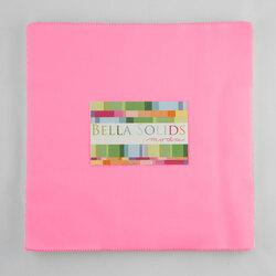 Bella Solids Junior Layer Cake in 30's Pink