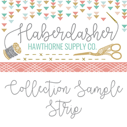 Haberdasher Sample Strip