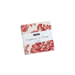 Cranberries and Cream Mini Charm Pack