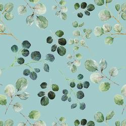 Eucalyptus Leaf in Pacific Blue