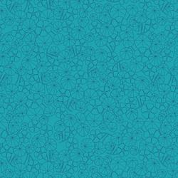 Nasturtium Field in Pond Blue
