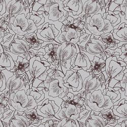 Anemones in Wisteria