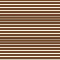 Stripe in Cream on Chocolate