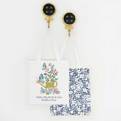 Seeds of Love Tote Panel in Spring