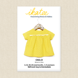 Oslo Blouse or Dress - Baby