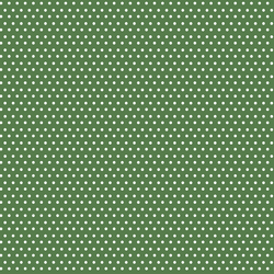 Polka Dots in Muted Green