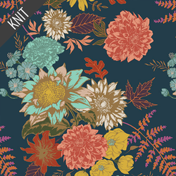 Floral Glow Knit in Twilit
