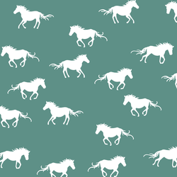 Horse Silhouette in Agate