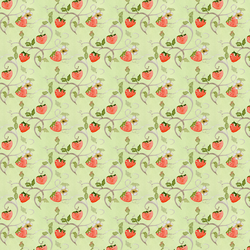 Strawberry Fields in Leaf Green