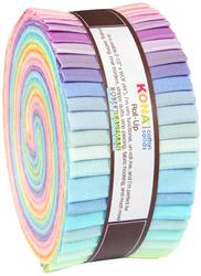 """Kona Solid 2.5"""" Strip Roll in Pastel"""