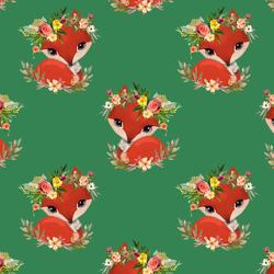 Foxy in Green