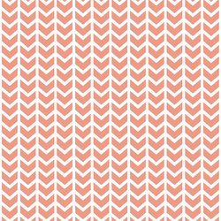 Broken Chevron in Grapefruit