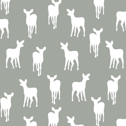 Fawn Silhouette in Sage