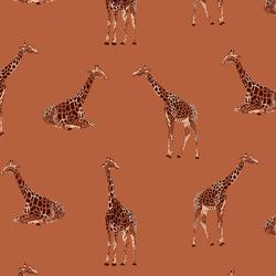 Giraffe in Baked Clay