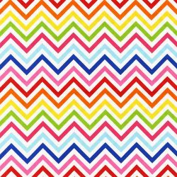 Zig Zag Stripe in Bright